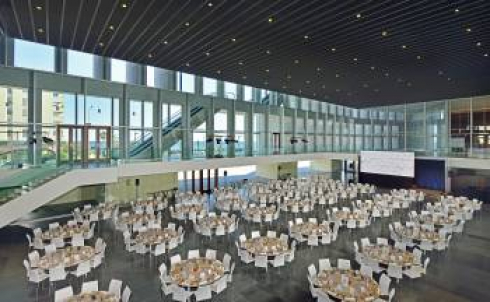 Expo banquet set up